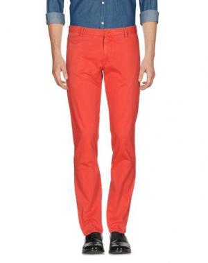 Повседневные брюки ALTEA DAL 1973. Цвет: красный