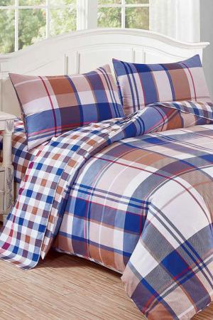 Постельное белье 1,5-сп. 50x70 Patrizia. Цвет: голубой