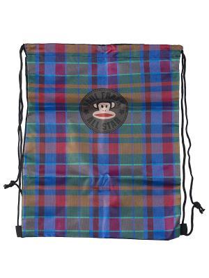 Сумка-рюкзак для обуви Paul Frank. Цвет: оливковый, голубой, розовый