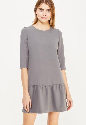 Платье Froggi. Цвет: серый