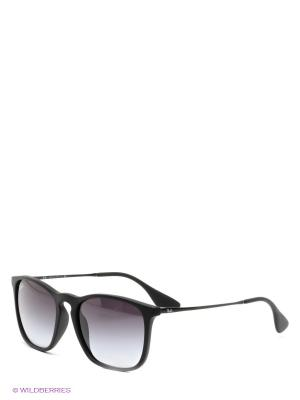 Очки солнцезащитные Ray Ban. Цвет: черный