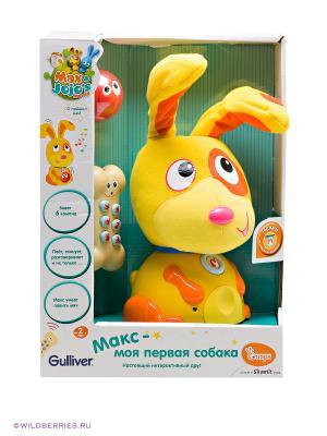 Игрушка интерактивная Собака Макс OUAPS. Цвет: оранжевый