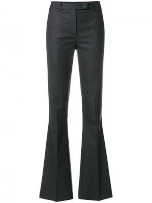 Широкие брюки Ql2. Цвет: серый