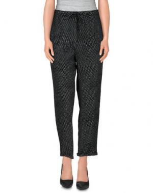 Повседневные брюки WOOLRICH. Цвет: черный