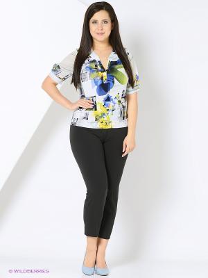 Блузка Milana Style. Цвет: белый