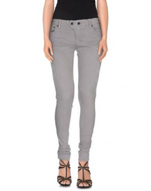 Джинсовые брюки L.G.B.. Цвет: серый