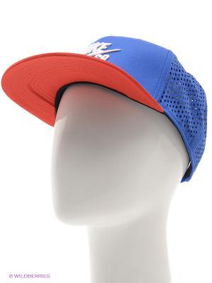 Бейсболка U NK AERO CAP PRO Nike. Цвет: синий, красный