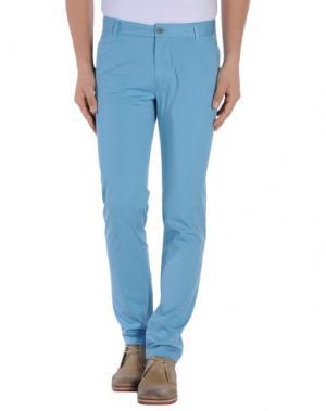 Повседневные брюки TIGER OF SWEDEN. Цвет: бирюзовый