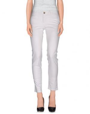 Повседневные брюки BLAUER. Цвет: белый