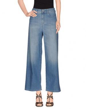 Джинсовые брюки NOTIFY. Цвет: синий