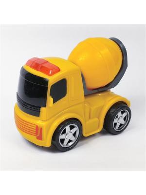 Машина инерционная Азбука Тойс. Цвет: желтый
