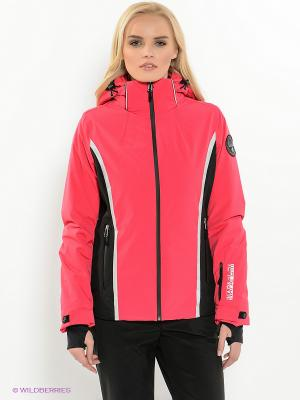 Куртка NAPAPIJRI. Цвет: розовый