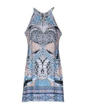 Короткое платье HALE BOB. Цвет: белый