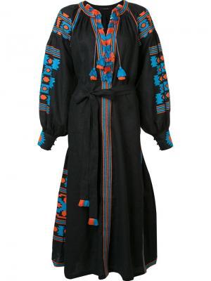 Платье с поясом Vita Kin. Цвет: чёрный