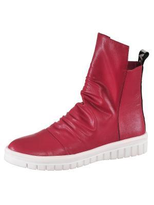 Ботинки THANKS4LIFE. Цвет: красный