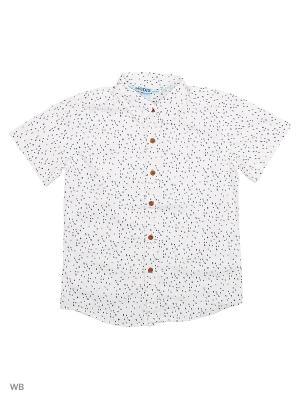 Рубашка Modis. Цвет: белый, черный