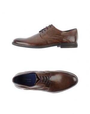 Обувь на шнурках EXPRESSION. Цвет: темно-коричневый