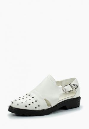 Ботинки Stephan. Цвет: белый