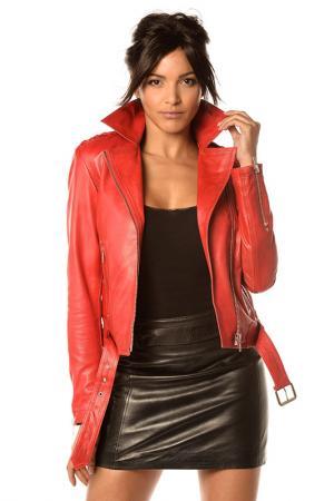 Куртка Pellessimo. Цвет: красный