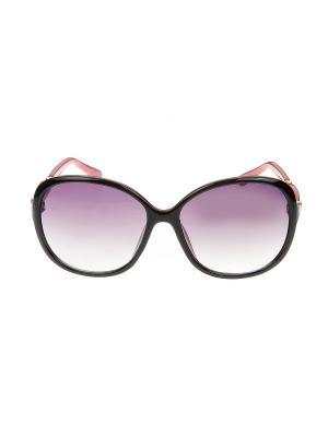 Солнцезащитные очки, iq format. Цвет: черный, красный