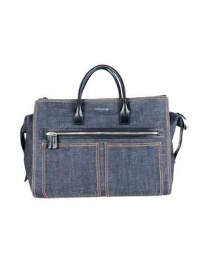 Дорожная сумка DSQUARED2. Цвет: темно-синий