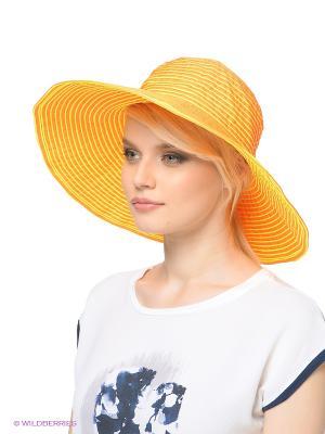 Шляпа Ваша Шляпка. Цвет: оранжевый, желтый