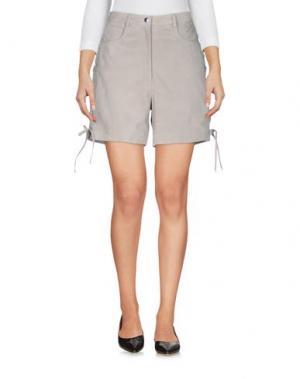 Повседневные шорты HIDE. Цвет: светло-серый
