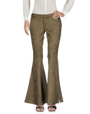Повседневные брюки ONE x ONETEASPOON. Цвет: зеленый-милитари