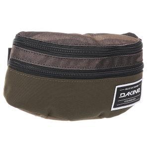 Сумка поясная  Classic Hip Pack Field Camo Dakine. Цвет: зеленый,бежевый,коричневый