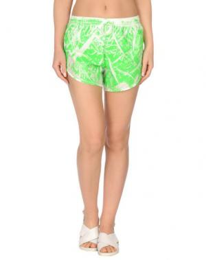 Повседневные шорты TEE-TREND. Цвет: зеленый
