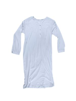 Ночная сорочка La Pastel. Цвет: голубой