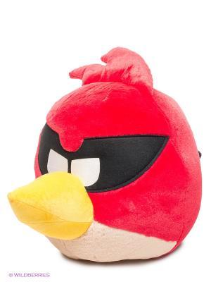 Мягкая игрушка Красная птица ANGRY BIRDS. Цвет: красный, бежевый, черный