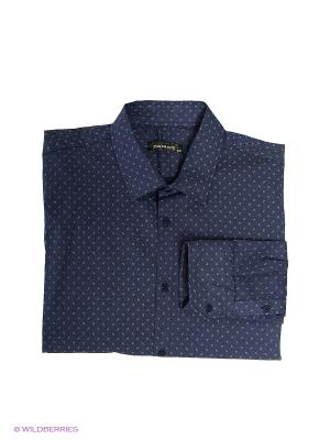 Рубашка Dairos. Цвет: темно-синий