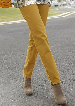 Брюки Classics collection Classic's. Цвет: цвет желтой меди