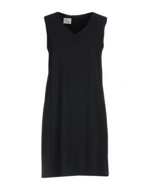Короткое платье CONTE OF FLORENCE. Цвет: стальной серый