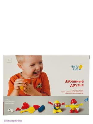 Набор для детской лепки Забавные друзья GENIO KIDS. Цвет: белый