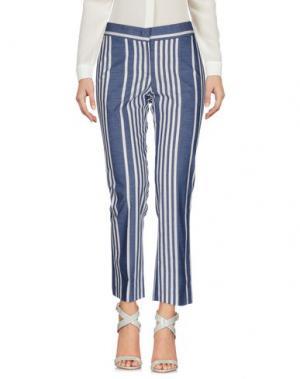 Повседневные брюки FABRIZIO LENZI. Цвет: пастельно-синий