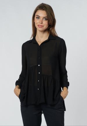 Блуза OKS by Oksana Demchenko. Цвет: черный