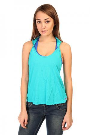 Майка женская  Sprinter T-Shirt Blue CajuBrasil. Цвет: голубой