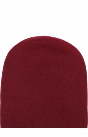 Кашемировая шапка Tegin. Цвет: бордовый