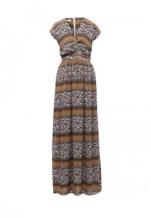 Платье Tutto Bene. Цвет: разноцветный