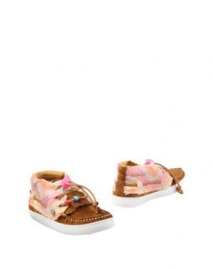 Полусапоги и высокие ботинки DOLFIE. Цвет: коричневый