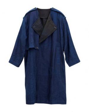 Легкое пальто MINI. Цвет: синий