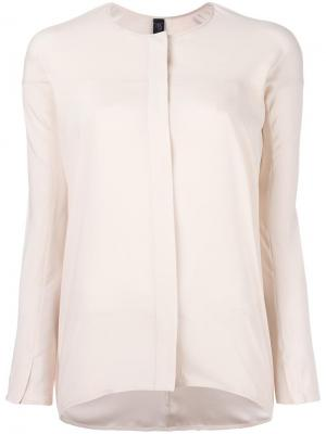 Рубашка Tanu Zero + Maria Cornejo. Цвет: телесный