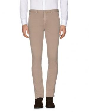 Повседневные брюки CIRCOLO 1901. Цвет: хаки