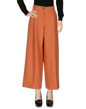 Повседневные брюки MAURIZIO PECORARO. Цвет: оранжевый