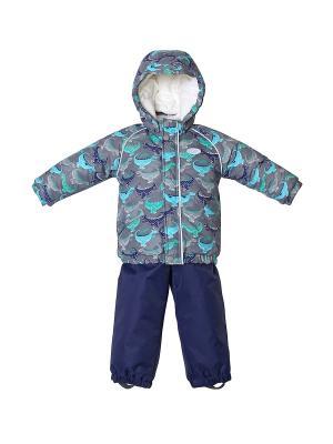 Комплект одежды REIKE. Цвет: серый