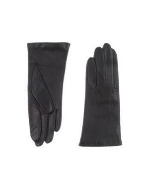 Перчатки DENTS. Цвет: черный