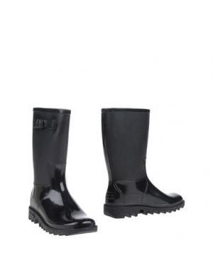 Полусапоги и высокие ботинки SENSI. Цвет: черный