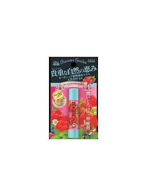 Бальзам для губ Свежие ягоды с органическими экстрактами растений Kose Cosmeport PRECIOUS GARDEN. Цвет: розовый